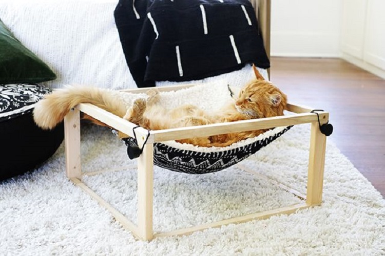 DIY Cat Hammock